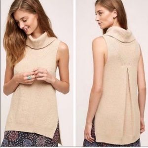 Anthropologie Angel of The North Knit Cowl Sweater